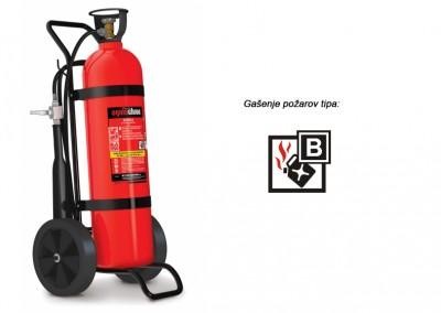 Gasilni aparat na CO2 20 kg B