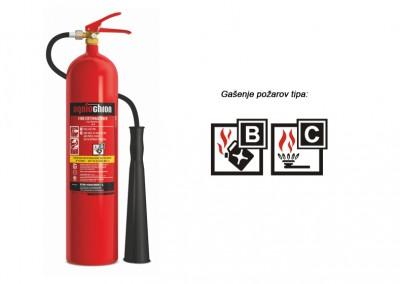 Gasilni aparat na CO2 5 kg B