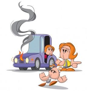 Uporaba gasilnika v osebnih vozilih1