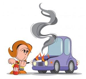 Uporaba gasilnika v osebnih vozilih2