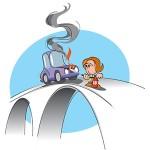 Uporaba gasilnika v osebnih vozilih3-23