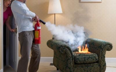 Uporaba gasilnika v gospodinjstvu