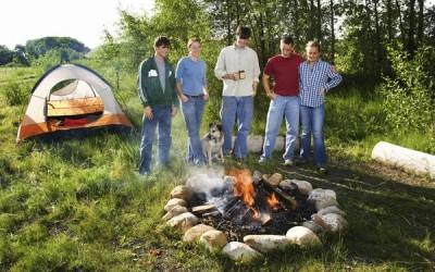 Kampiranje in požarna varnost