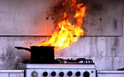 Naj ogenj ne uniči vaše kuhinje