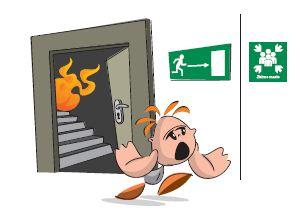 Evakuacija iz objekta v primeru požara
