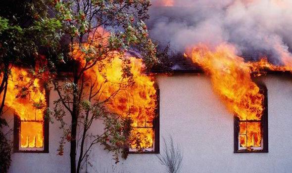Kako ravnamo ob požaru na objektu