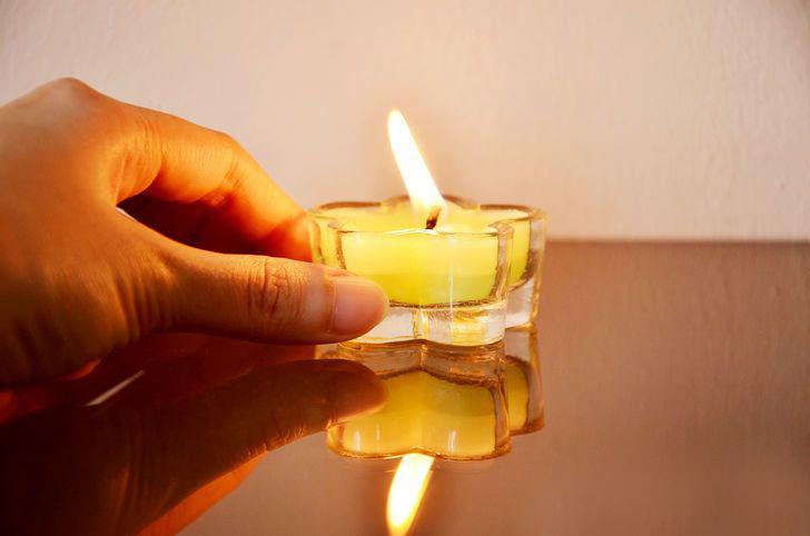 Napotki za varno uporabo sveč